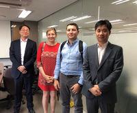 Firma Japón Gina y Franz Matheis